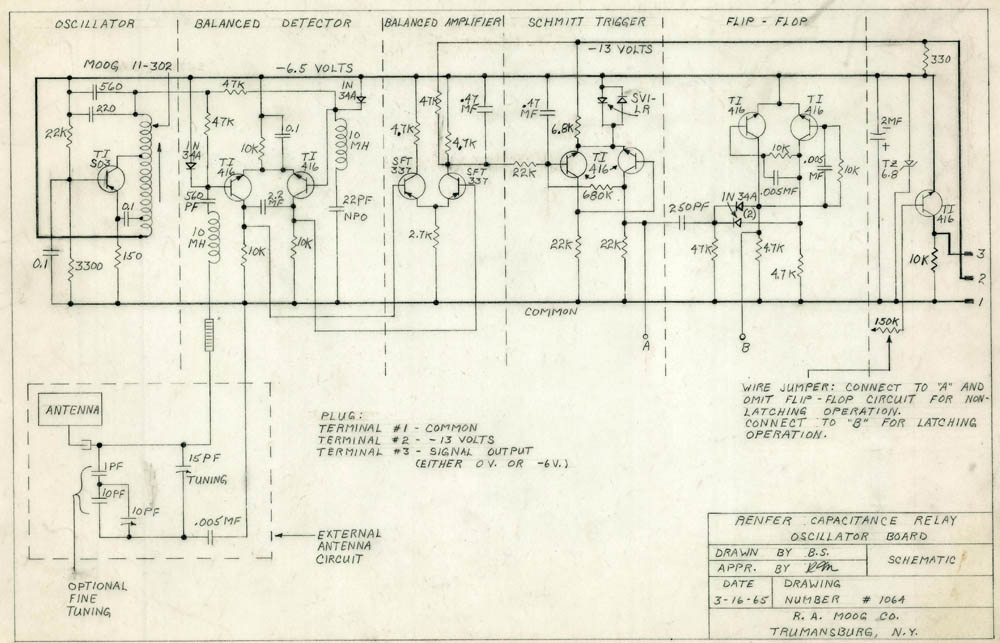 New discoveries from the Bob Moog Foundation Archives: more ...
