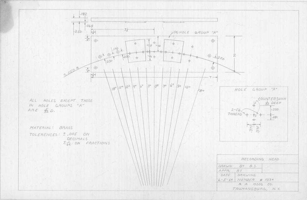 bob moog schematics