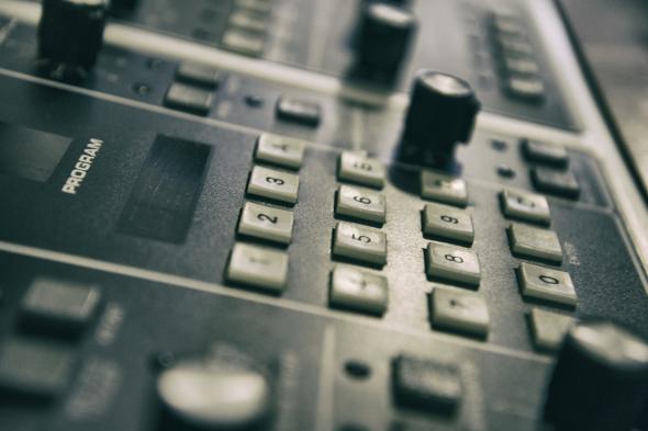 Memorymoog System Control Panel