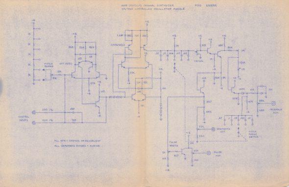Original VCO Schematic (combined)